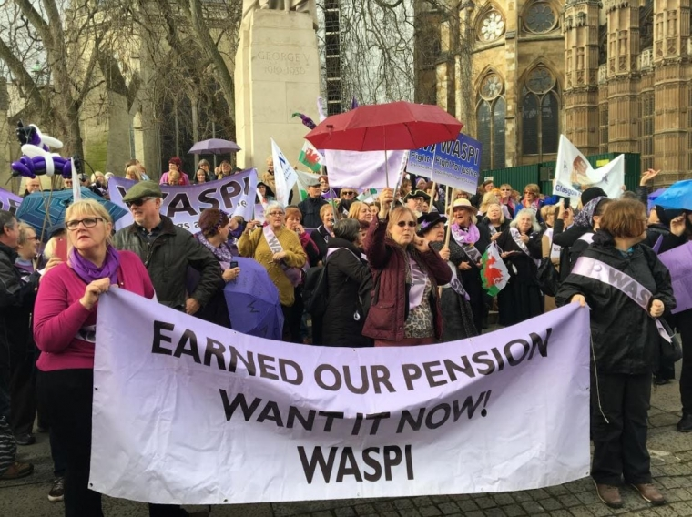 WASPI is calling for a bridging pension that would provide some assistance to unretired 1950's women