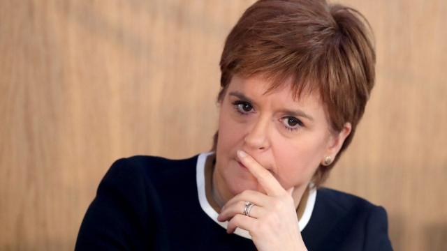 Nicola Sturgeon was warned about the cost of a national CBI in March (Photo: PA)