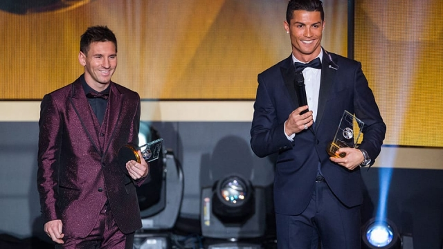 Cristiano Ronaldo and Lionel Messi have dominated the Ballon d'Or since the former first won it in 2008