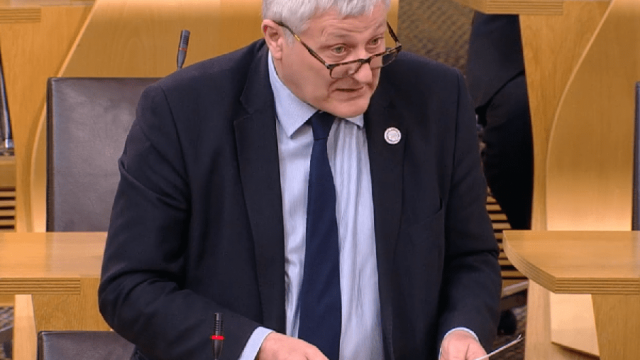 Green MSP John Finnie has been campaigning for a change in the law on smacking (Photo: Scottish Parliament)