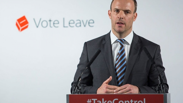 The new Brexit Secretary Dominic Raab (Photo: Getty)