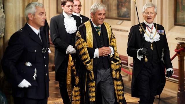 Speaker of the House of Commons, John Bercow .(Photo: Niklas Halle'n - WPA Pool/Getty Images)