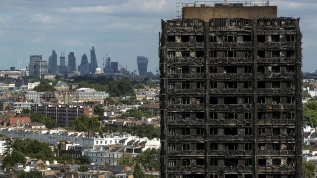 Grenfell Tower. (Photo: Getty)