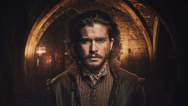 Kit Harington plays his descendant Robert Catesby in BBC One drama Gunpowder