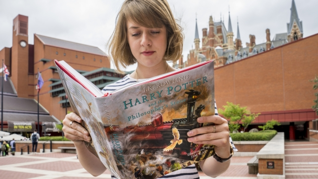 Harry Potter: A History of Magic exhibition at the British Library