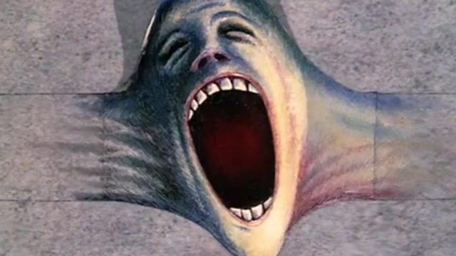 The screaming face has become one of the iconic symbol's of Pink Floyd - The Wall