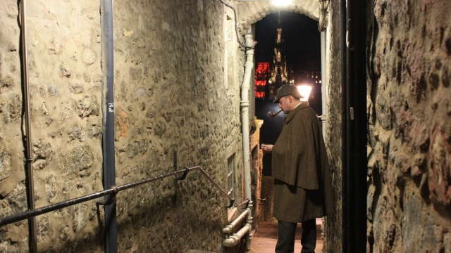 The idea for Sherlock Holmes was actually conceived in Edinburgh, not London