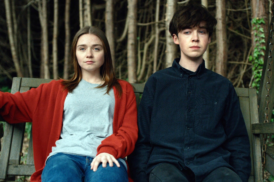 Jessica Barden and Alex Lawther star in Channel 4's 'The End of the F***ing World'. Photo: Robert Chilton/Channel 4