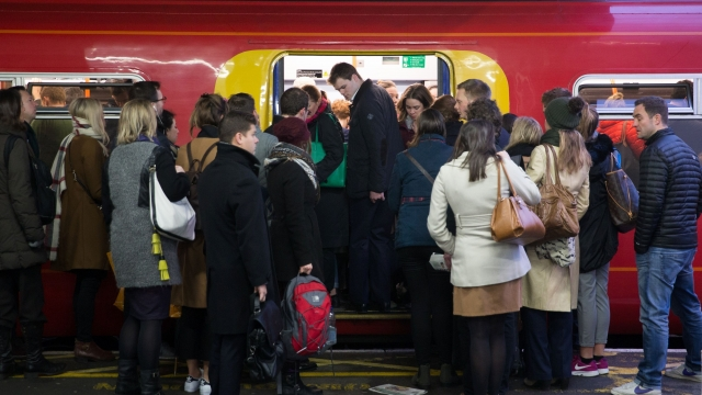 Labour says overcrowding is getting worse. (Photo: Daniel Leal-Olivas/AFP/Getty)