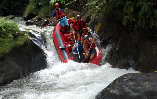 Extreme sports such as white water rafting often require additional cover