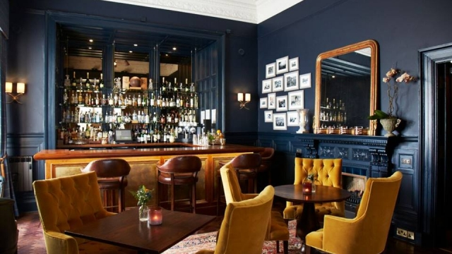 ba bar at dunstane house edinburgh cosy pubs