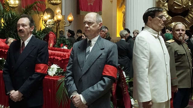 The Death of Stalin sees several prominent figures of the Soviet Union wrestle for power following their leaders death
