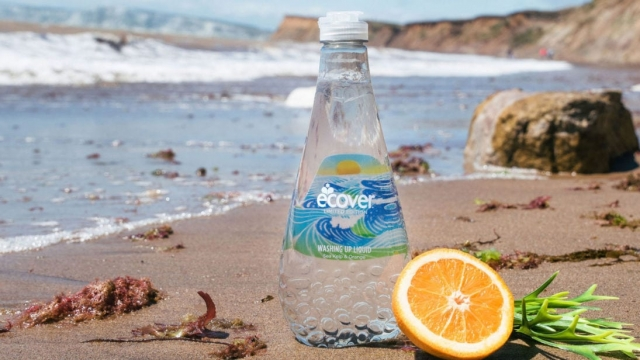 The recycled plastic was recovered from Rio de Janeiro's bay before the Olympics