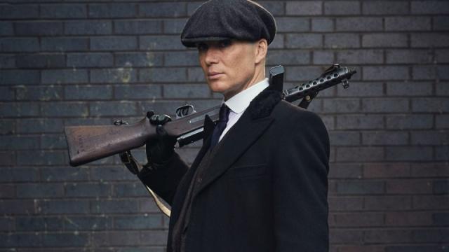 Tommy gun peaky blinders