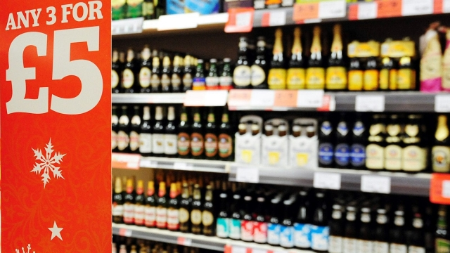 The ruling will set a minimum price for all alcohol sold in shops in Scotland (Photo: PA)