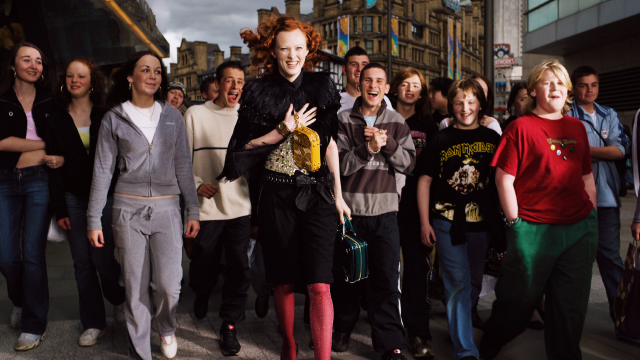 This photo, featuring model Karen Elson and taken by Elaine Constantine in 2005, features in North: Fashioning Identities (c) Elaine Constantine (from Somerset House Press Office