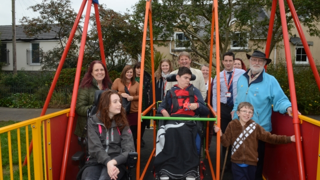 Swansea Council installed the AbilitySwing in response to calls from parents and young people (Photo: Swansea Council)