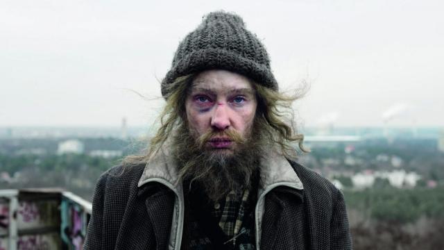 Cate Blanchett in Manifesto, written, produced and directed by Julian Rosefeldt