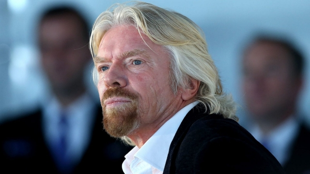 Richard Branson says he is proud of the NHS but has always thought several aspects 'could be improved'.