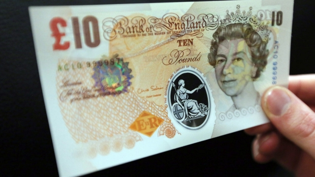 The old ten pound note will no longer be legal tender from March 2018