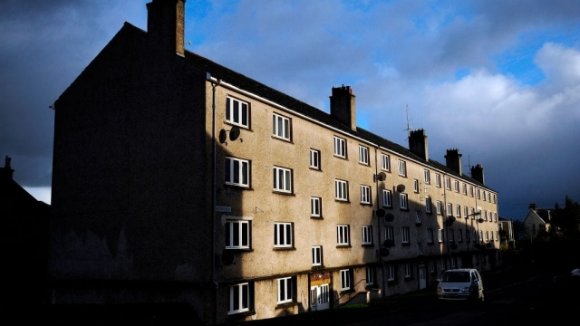 Residents of Scottish flats are complaining of an 'endless stream of strangers' (Photo: Getty)