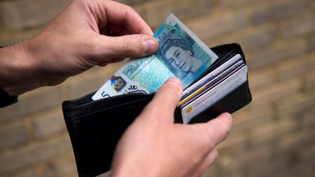 The over 65s are markedly more content with their finances