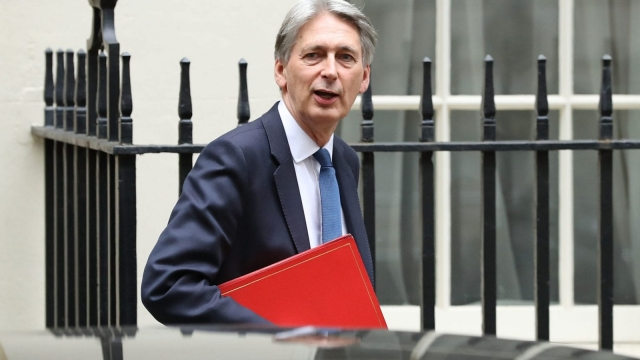 Philip Hammond loosened the purse strings in the Budget , but the end of austerity remains a distant prospect according to the IFS (Photo: Getty)