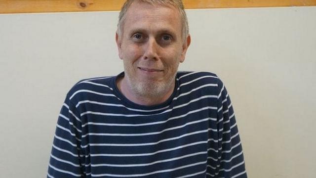 Geoff Edwards, a former Big Issue seller