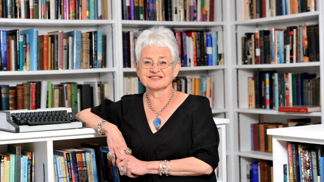Jacqueline Wilson is a former children's laureate Photo: James Jordan