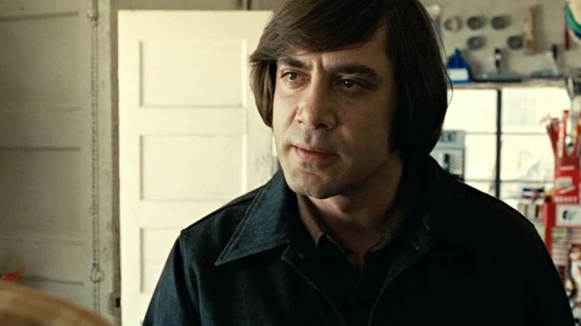 Javier Bardem's monstrous character Anton Chigurh showed an unnerving level of complexity in the coin-flip scene