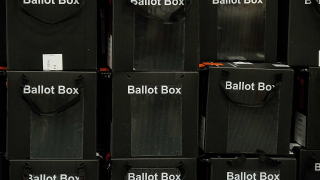 Opinion polls are showing a range of results. (Getty)