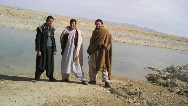 Levison in Afghanistan