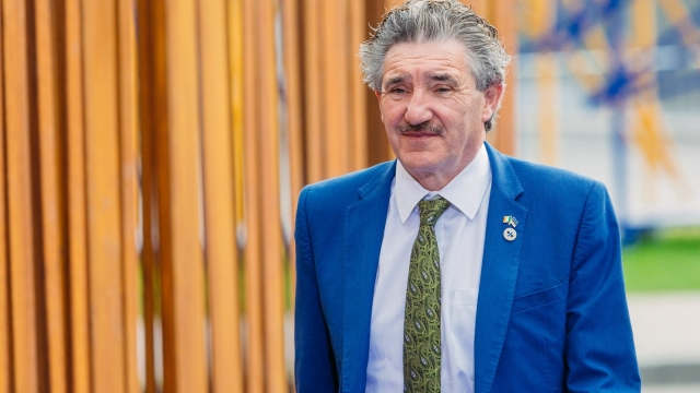 John Halligan, the independent Irish minister who plans to encourage Kim Jong-un to back democracy