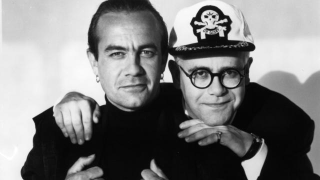 Elton John and Bernie Taupin ©Herb Ritts