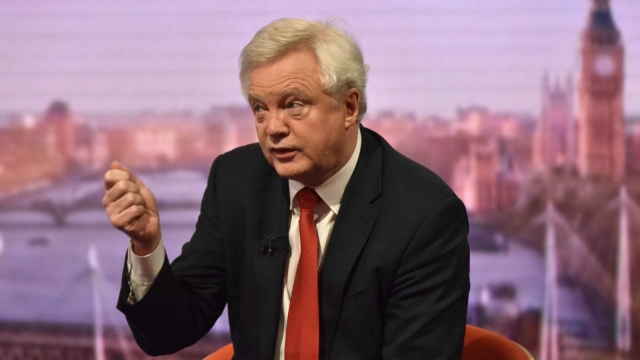 David Davis has taken legal advice over 'no deal' moves by Brussels (Photo: PA)