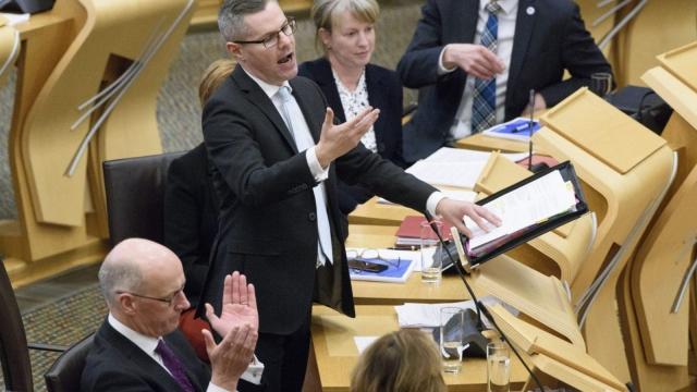 The Scottish Budget was presented by Finance Secretary Derek Mackay (Photo: PA)