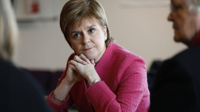 Nicola Sturgeon is expected to announce an income tax rise next week (Photo: Scottish Government)