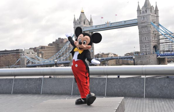 Disney is set to become a major figure in UK news following its acquisition of Sky (Photo by Ferdaus Shamim/WireImage GETTY)
