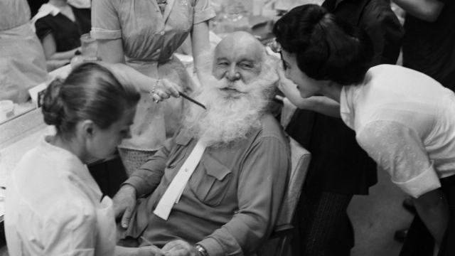 Father Christmas hasn't always been a sexless figure in our imaginations (Photo: Getty)