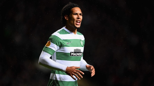 Virgil van Dijk spent three seasons at Celtic before joining Premier League side Southampton in 2015 (Picture: Getty Images)