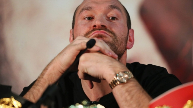 Tyson Fury and his cousin Hughie maintain they did nothing wrong other than eat the meat of an uncastrated boar (Picture: Getty Images)