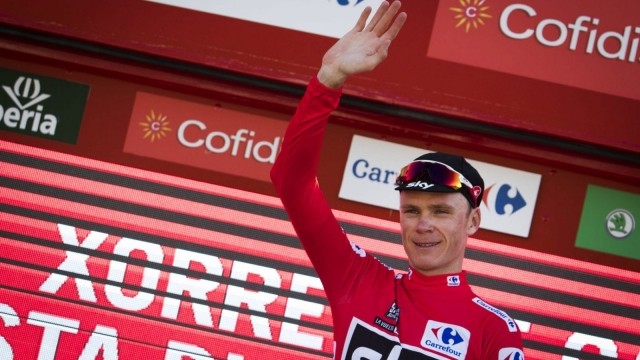 Chris Froome became the first cyclist since 1978 to win both the Vuelta and the Tour in the same year (Picture: Getty)