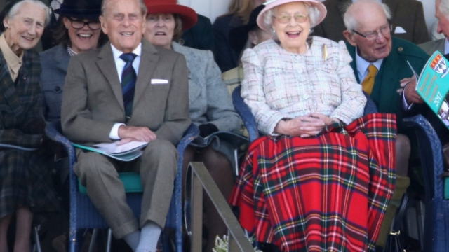 The Queen and Prince Philip at the Braemar Gathering. Photo by Chris Jackson/Getty Images