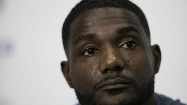 Article thumbnail: Justin Gatlin, 35, has strongly denied any wrong doing (Picture: Getty Images)