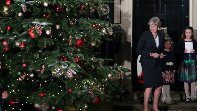 A joke involving Theresa May has topped the list of best modern Christmas cracker jokes