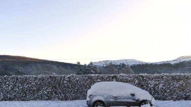 Much of Britain was left under snow this weekend (Photo: Getty)