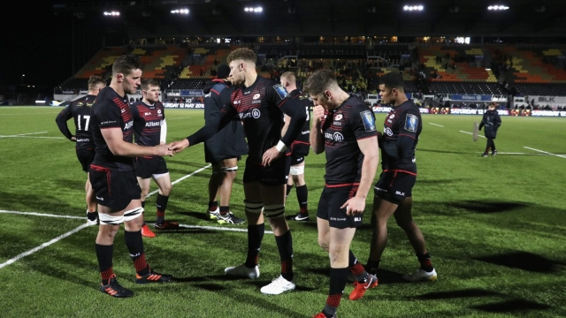 Saracens suffered a sixth consecutive defeat with loss to a rampant Clermont Auvergne side (Picture: Getty Images)
