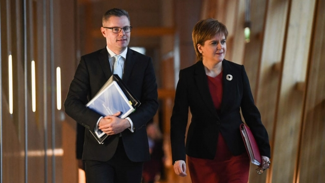 The Scottish Budget was announced by Derek Mackay at Holyrood (Photo: Getty)