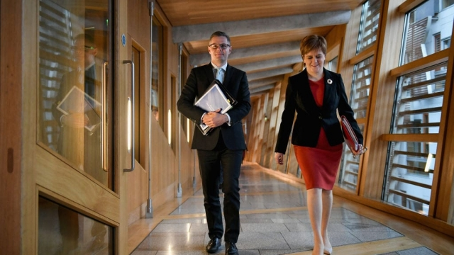 The SNP's tax plans were announced at Holyrood on Thursday (Photo: Getty)