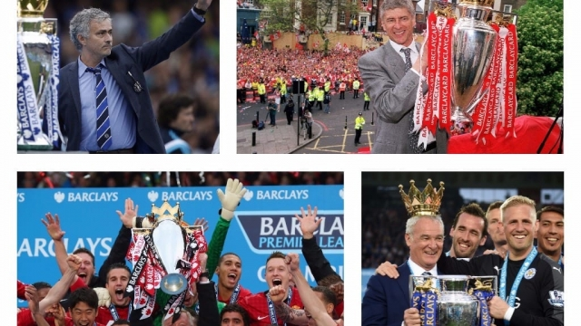 The list of English champions would look very different if the Premier League was judged on calendar years (Picture: Getty Images)